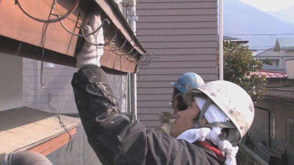 木部・軒天塗装の流れ|飛塚塗装店
